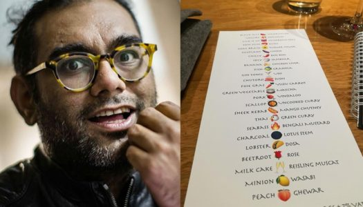 GAGGAN'S NEW EMOJI MENU REVIEW IN INSTAGRAM POSTS
