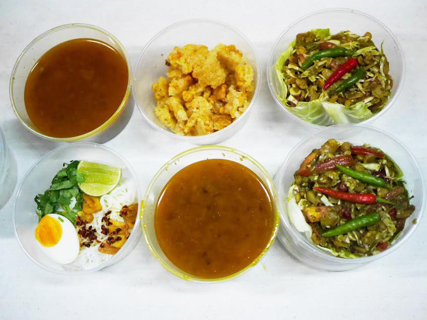 Myanmar food rising – New Burmese food delivery in Bangkok