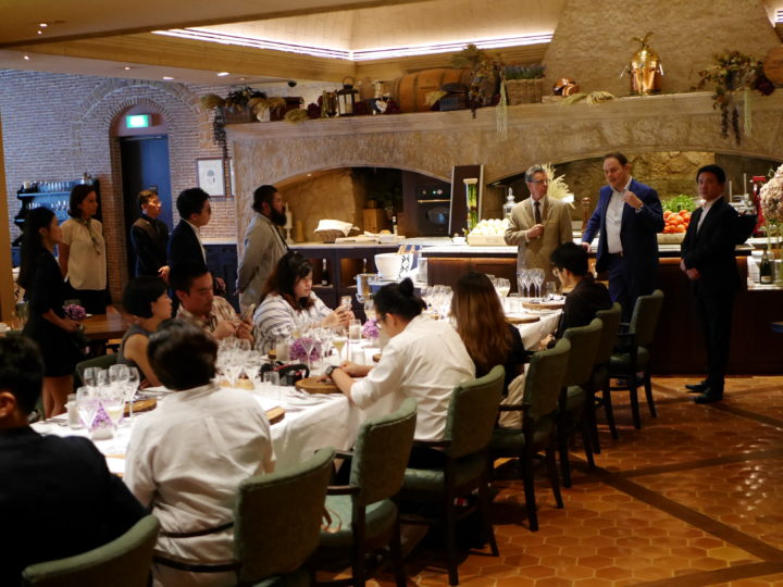 Michelin Star Dining with Chef Alfio Ghezzi at Rossini's, Sheraton Grande Sukhumvit
