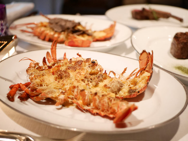 "When Cheese and Seafood make love – ""The"" Lobster Thermidor"