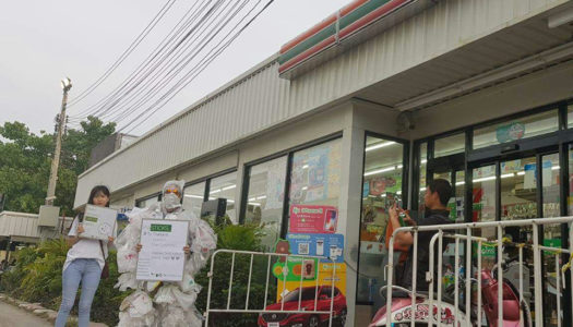 The Plastic Monster Strikes 7/11 Bangkok but Fails to Instill Fear of Plastic Waste
