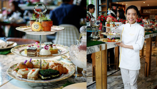 "Fantasical Tea Time: 137 Pillars Bangkok Go ""Alice In Wonderland"" 