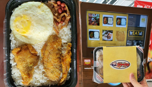 Famous Nasi Lemak Now Available by Vending Machines in Singapore | Bangkok Foodies