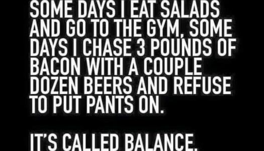 Definition of Balance According to Foodies