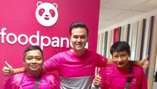 FOODPANDA BLUSHES OVER NEW LOGO