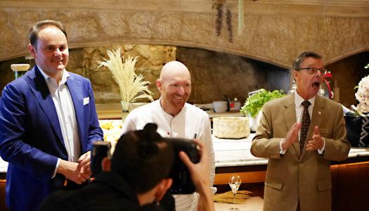 Lunch with Matteo Lunelli of Ferrari Trento & Chef Alfio Ghezzi | Gallery