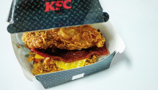KFC's Double Down Viral Sensation Arrives to Bangkok with Mixed Emotions.