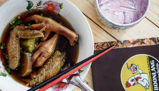 From Fine Dining to Foot Fetish: New Noodle Soup Shop Opens in Thonglor | Bangkok Foodies