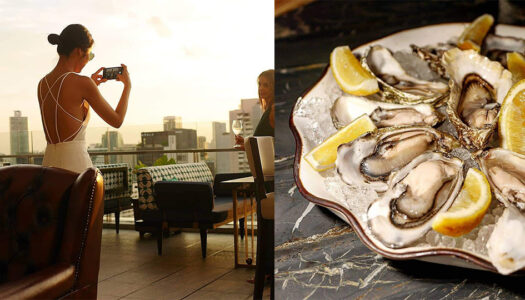 40 Baht++ Oysters and Rooftop Sunsets: 137 Pillars Launch Their Oyster Extravaganza & Pairing Promotion | Bangkok Foodies