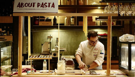 "About Eatery Rolls-out Their Fresh Pasta Station & ""Fasta Pasta"" Challenge 