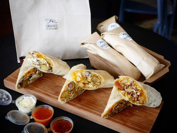 The Breakfast Burrito Makes a Comeback: Luca Thaiger Returns Bangkok Foodies