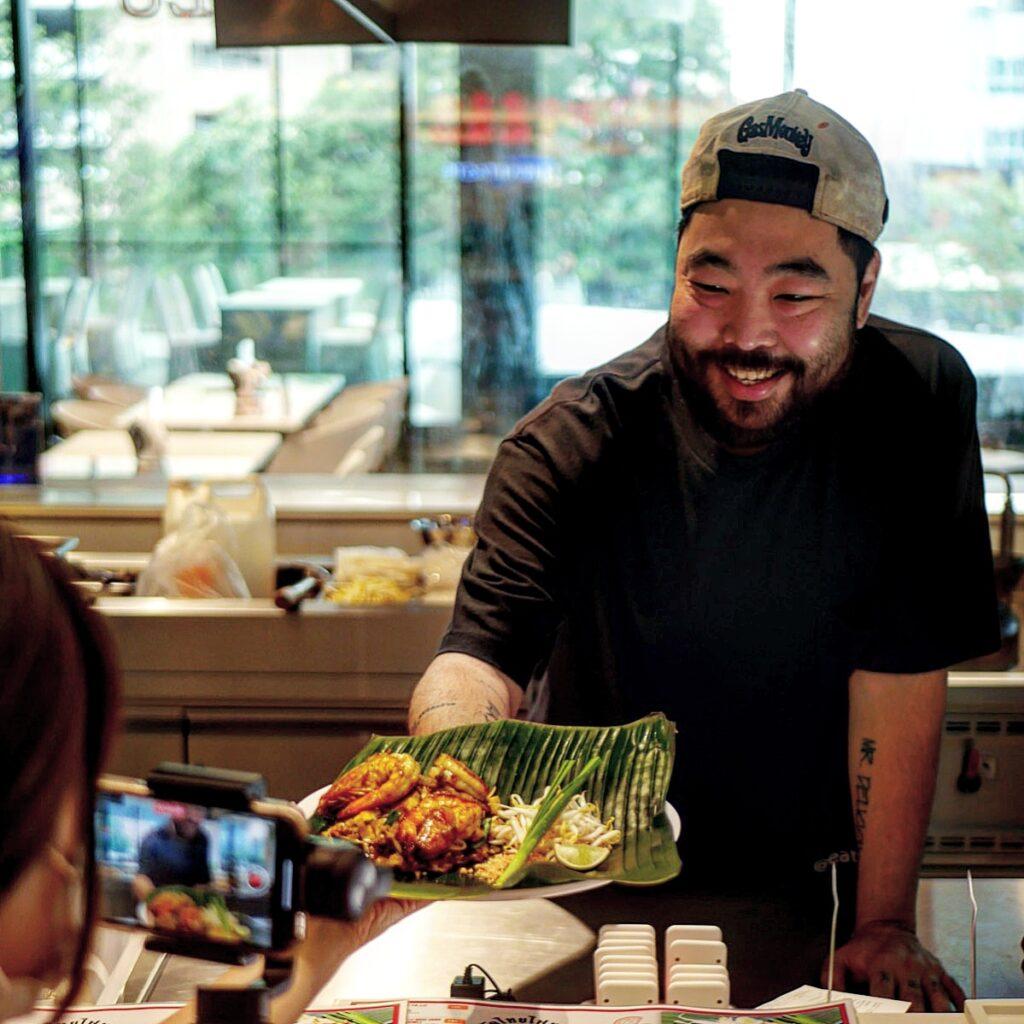 Chef Andy Yang at Thai Taste Hub