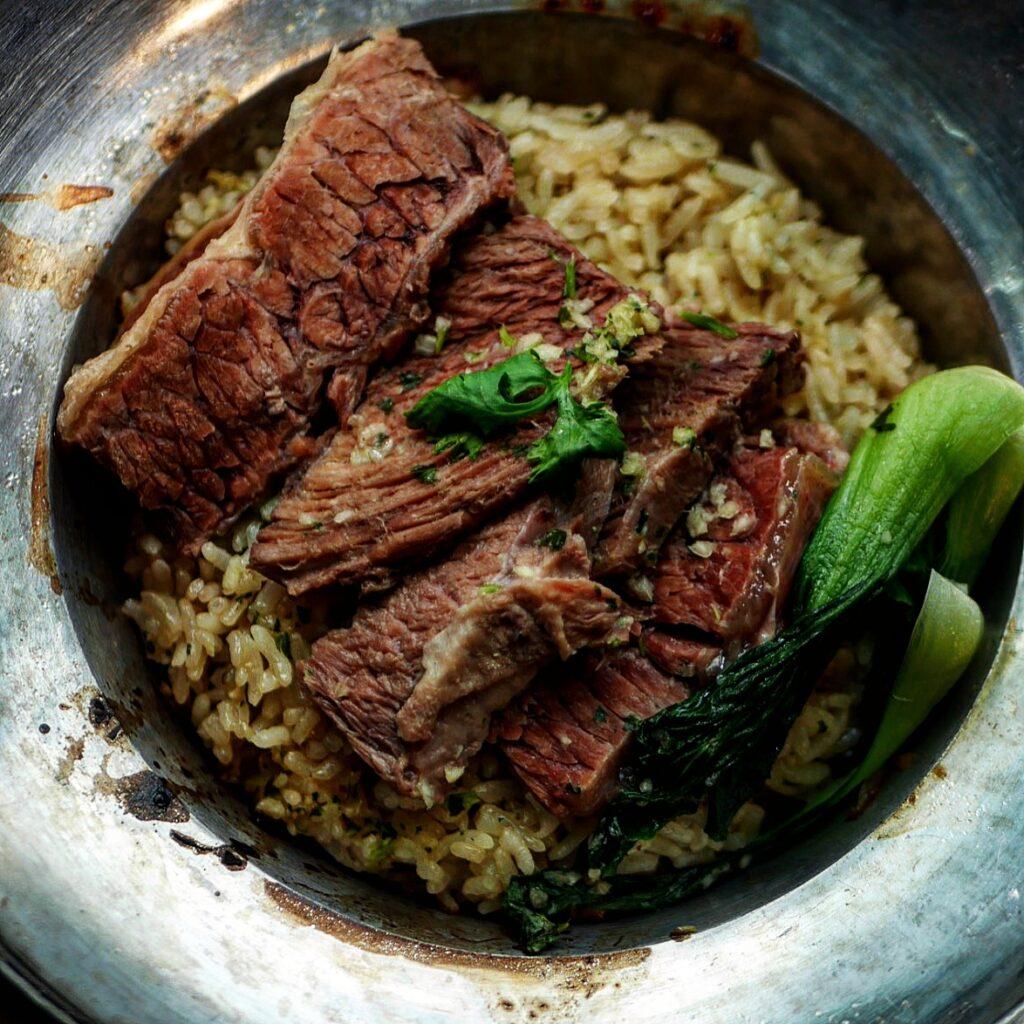 Thai taste hub Beef and rice hotpot