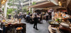 Bangkok's Best Sunday Brunch at Anantara Siam Bangkok Hotel