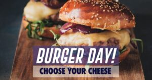 Burger Day! at Blue Parrot Bangkok