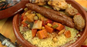 Couscous Royal at Bacchus&Co French restaurant