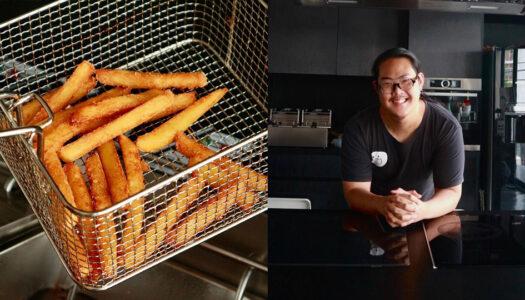 "Creator of Bangkok Viral Burger Discovers the ""Perfect"" Fries | Bangkok Foodies"