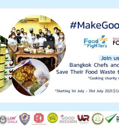 MakeGoodWaste - Food For Fighters
